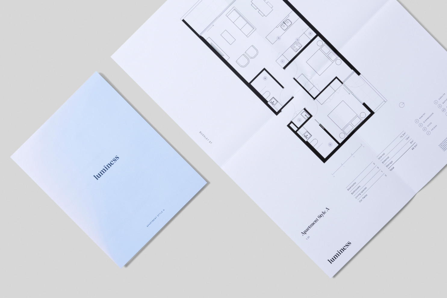 Luminess - Floorplans