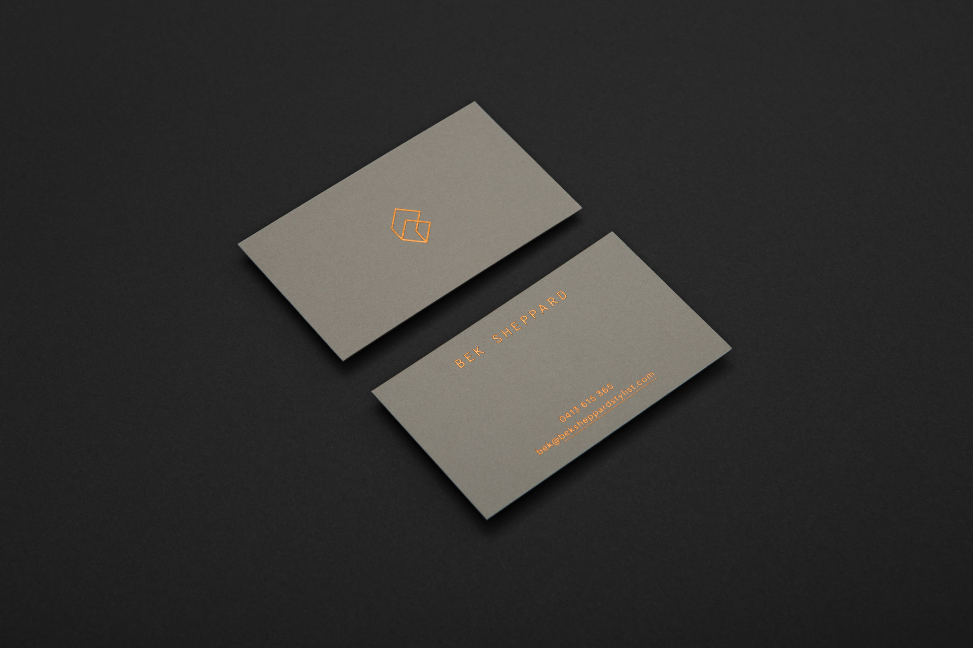 Bek Sheppard - Business Card