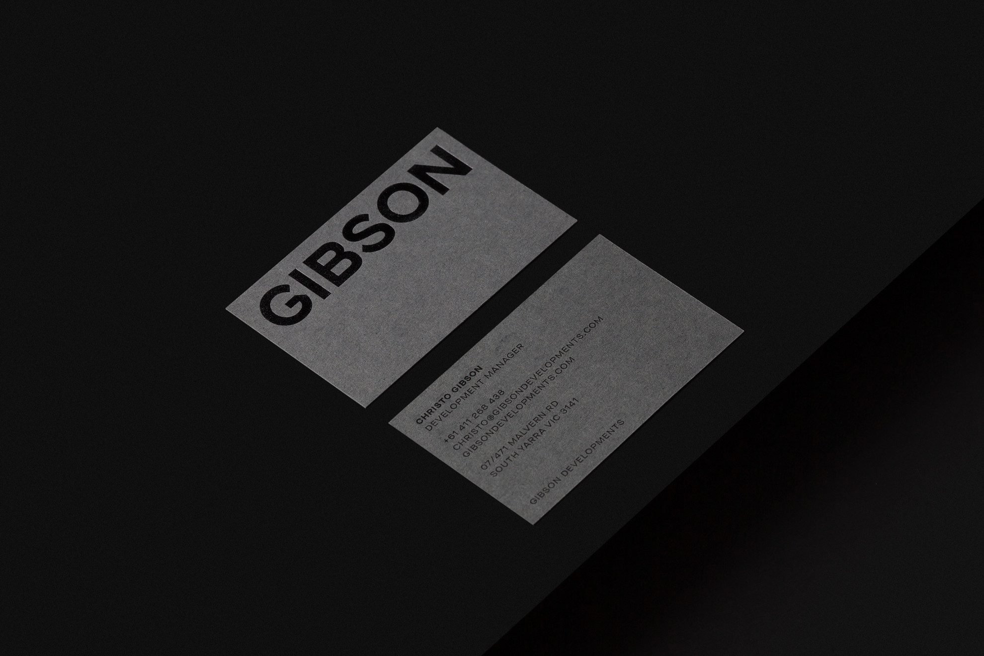 Gibson - Businesscard