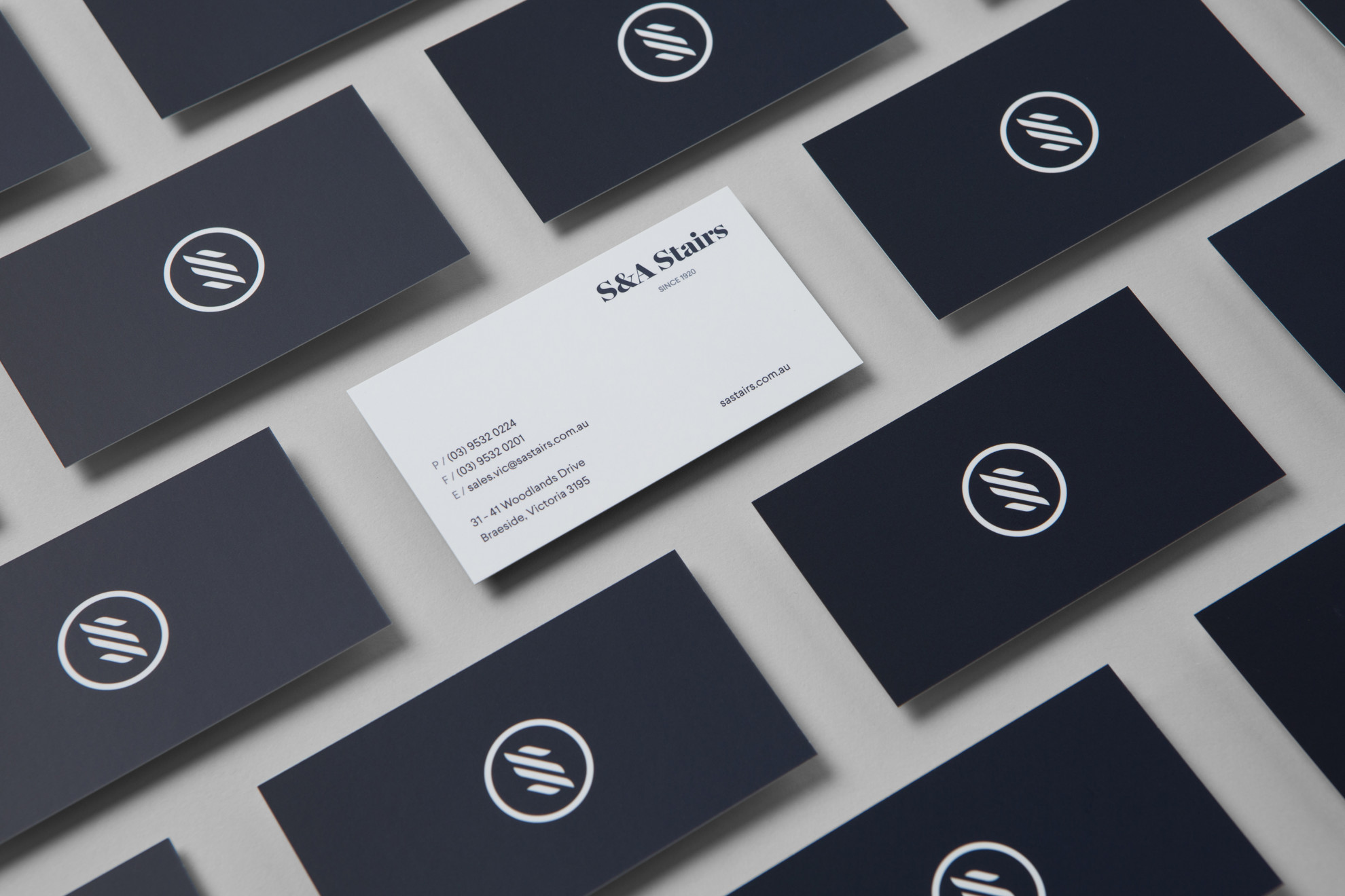 S&A Stairs - Business Cards