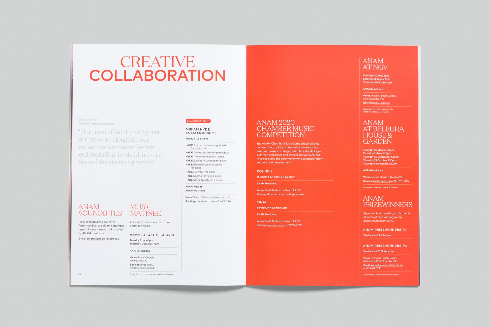 ANAM - 2020 Brochure